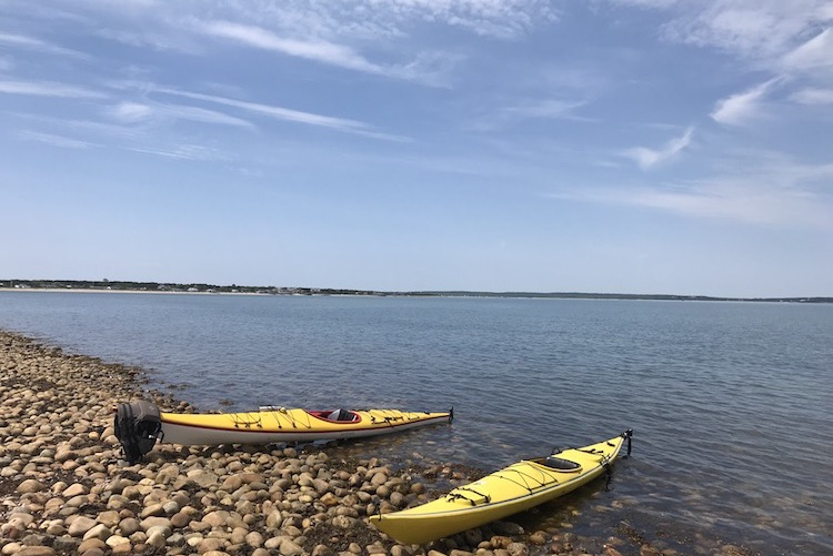 A Summer's Paddle around Long Island: First Strokes & A Trip Beyond