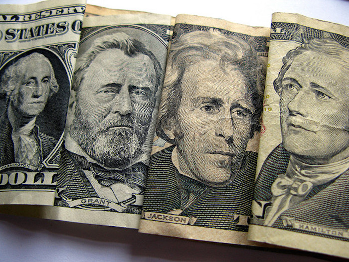 The faces on American currency