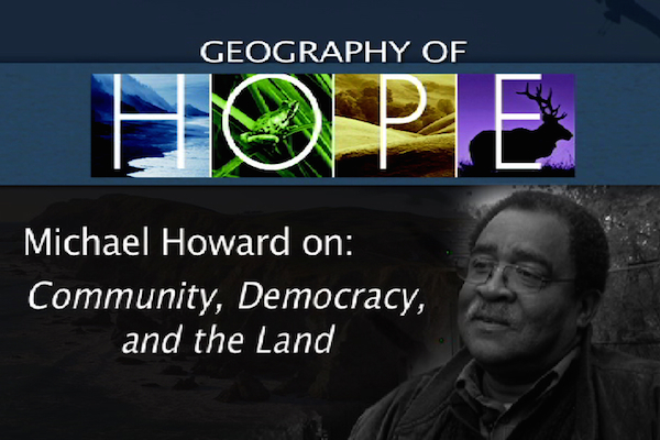 Geography of Hope 2013 - Michael Howard